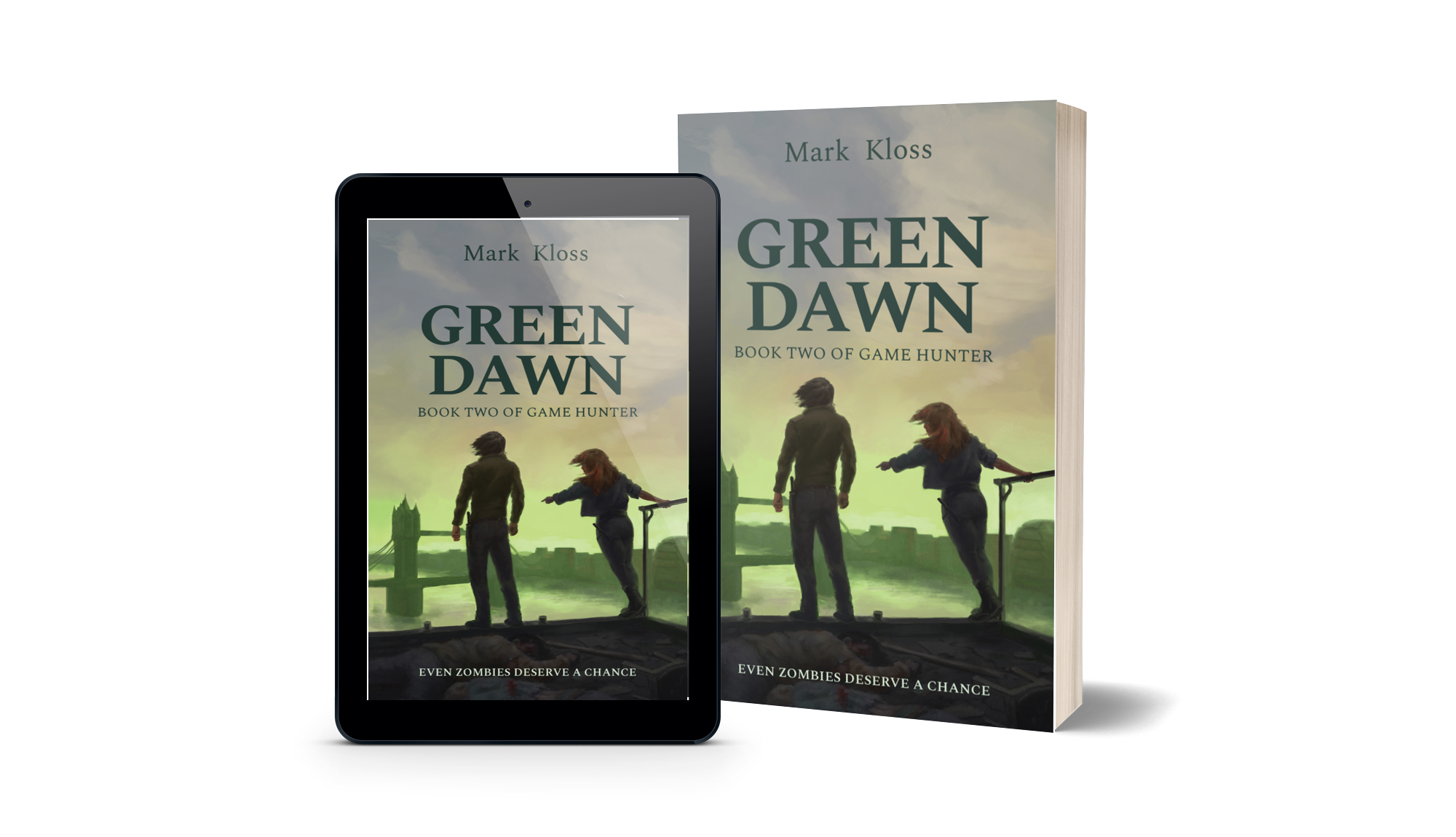 Game Hunter Book Two, Green Dawn – is now out!
